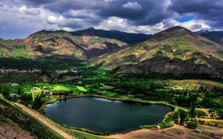 جاهای دیدنی چالوس,دریاچه های چالوس,مکانهای گردشگری چالوش