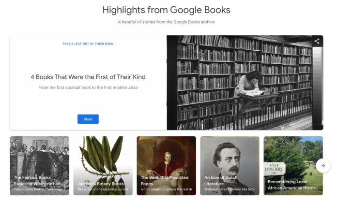 اضافه شدن حالت متریال به اپلیکیشن Google Books