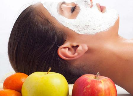 ماسک صورت, ماسک میوه, انواع ماسک صورت