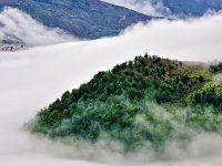 روستای فیلبند، روستایی عجیب و رویایی بر فراز ابرها + تصاویر