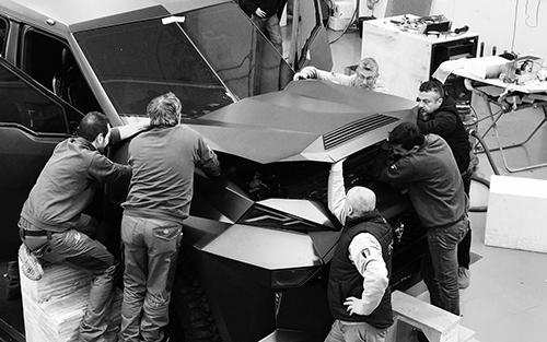 عکس ها و مشخصات گرانترین خودروی شاسی بلند جهان