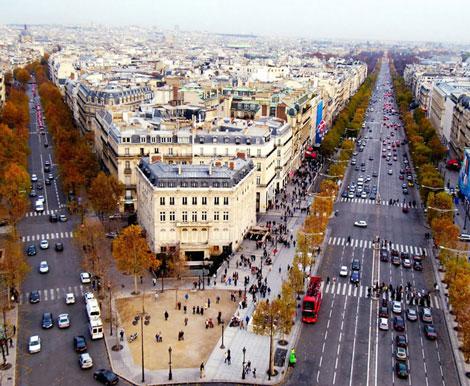 مکانهای تفریحی پاریس,جاهای دیدنی پاریس,دیدنی های شهر پاریس