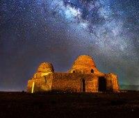 کاخ سروستان از باشکوهترین کاخهای برجای مانده از دوره ساسانیان